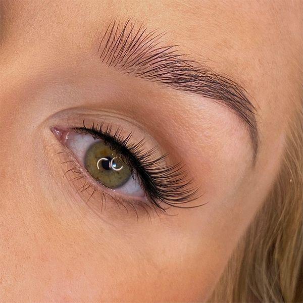 False Eyelashes Curious